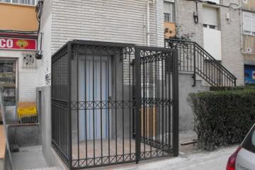 instalacion de ascensores en fachada