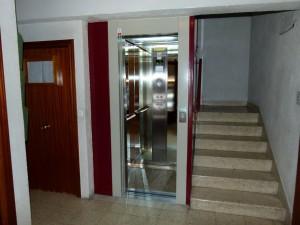 instalacion de ascensores en hueco de escalera
