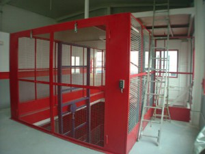 instalacion elevadores industriales