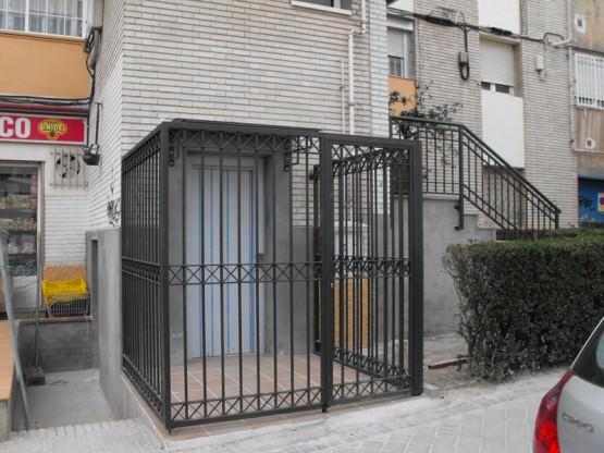 Cerramientos en ladrillos similares a los existentes