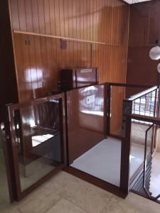 La plataforma elevadora para minusválidos alberche