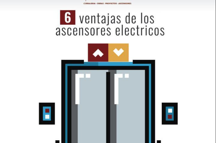 Ascensores eléctricos ventajas