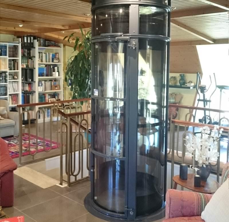 Instalación ascensores neumáticos estéticos