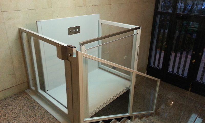 instalación de ascensor accesible