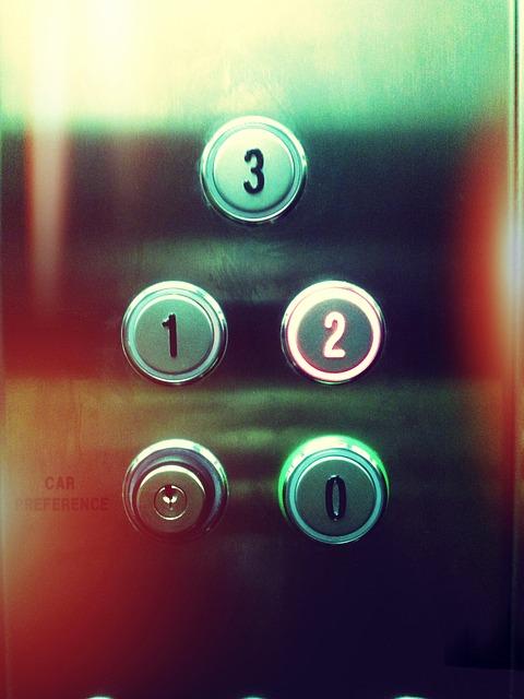 cambio de botones ascensores