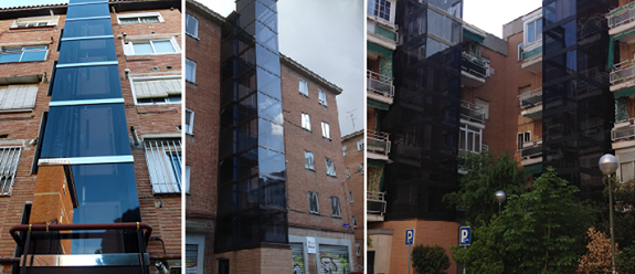 Instalación de ascensores en edificios antiguos en Madrid