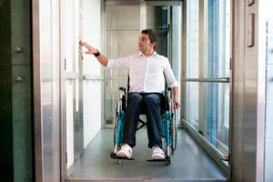 Accesibilidad de los ascensores exteriores