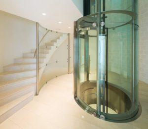 Prueba el diseño de puerta acristalada para ascensor
